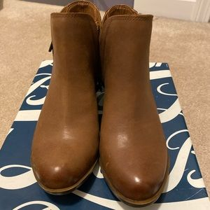 Brown Booties - Lucky Brand